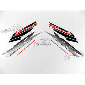 Kit Adesivos Xr 250 Tornado 2003 Branca Resinado 00885