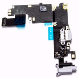 Repuesto Flex Pin De Carga + Flex Auricular Iphone 6 6 Plus