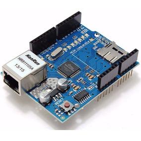 Módulo De Rede Ethernet Shield W5100 Arduino / Pic / Arm