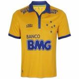 Camisa Olympikus Cruzeiro Amarela - 2014 - S/nº