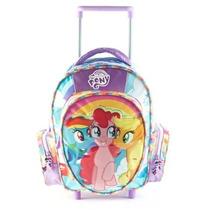 Mochila Con Carrito My Little Pony 35x26cm Original