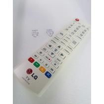 Controle Remoto Tv Led Lg Branco - Original Lg - Serve Todas