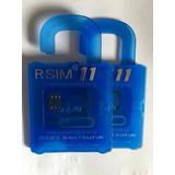 Chip Gevey R-sim 11 Desbloqueio De Iphone Ios 10