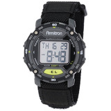 Reloj Armitron Sport Unisex 40/8291blk Black Velcro Strap