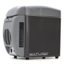Mini Geladeira Cooler Auto 7l Tv008 12 Volts Multilaser