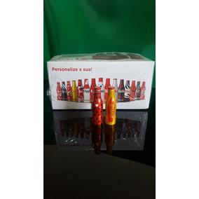 Coca-cola Mini Garrafinhas Coleção Completa 25 Unidades