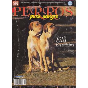 Revistas De Perros Fila Brasileiro Febrero 2002 Envio Gratis