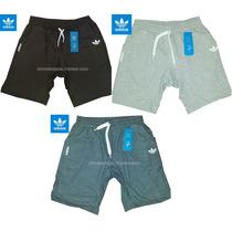 Adidas Short Bermudas De Entrenamiento Algodon