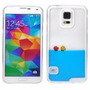 Funda 3d Liquida Con Color Y 2 Peces Galaxy S5