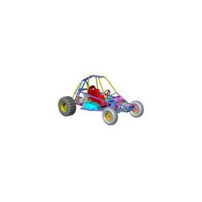 Piranha Cart Buggy Baja Offroad Quadriciclo - Projeto