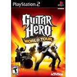 Guitar Hero World Tour - Playstation 2 (juego Solamente)