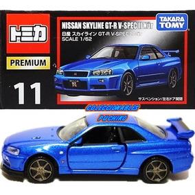 Tomica Nissan Skyline Gtr Carrito Metalico Takara 1/62