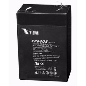 Batería Vision Cp640 6v 4ah Para Sistema De Alarmas