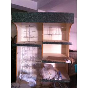 Mueble Para Exhibir Pan, Dulces, Galletas, Etc.,.
