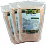 Sal Rosa Do Himalaia Comestível Fino - 3kg