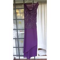 Vestido De Fiesta - Largo - Color Lila