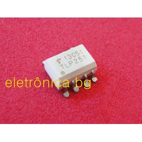 Tlp251 Tlp 251 Dip8 Optoacoplador 8 Pinos   Kit Com 5 Peças