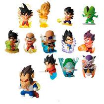 Conjunto 13 Bonecos Miniaturas Dragon Ball Z - Frete Grátis