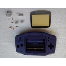 Carcaça Azul P Gba + Kit De Chaves X E Y R$ 48,99 + Frete