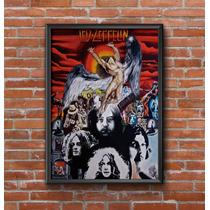 Cuadros Decorativos Led Zeppelin 30x42cm Poster Laminas