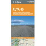 Guía Mapa Ruta 40. De Dios Guías De Viaje.