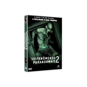Fenomenos Paranormais 1 E 2 Dvds Originais Novos Lacrados