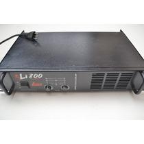 Potencia Leacs Li800 200 W Rms - Estudo Trocas