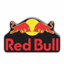 Adesivo Resinado Sticker Automotivo Red Bull 001