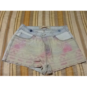 Usado Shorts Jeans Customizado