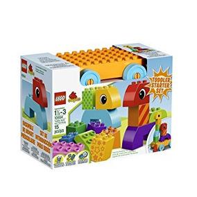 Juguete Lego Duplo Niño Build And Pull Junto Juego De Const