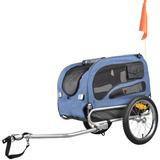 Orignial Doggyhut Medio Bicicleta Remolque Para Mascotas Pe