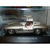 Schuco 1:43 Mercedes 300 Sl Asa De Gaivota - Abre Portas!