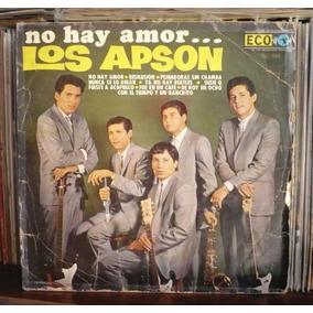 Los Apson Lp No Hay Amor Rock Mexicano