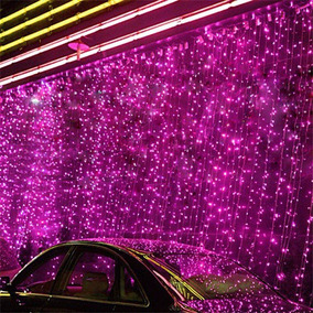 Serie Rosa 10m 100led Navidad Fiesta Xv Años Halloween 110v