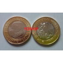 Moneda 20 Pesos Morelos Bicentenario Luctuoso 2015 Nueva