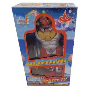Robot Con Luces Luchador Original Nenes