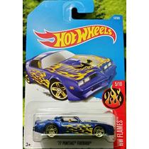 Hot Wheels ´77 Pontiac Firebird Color Azul Metálico