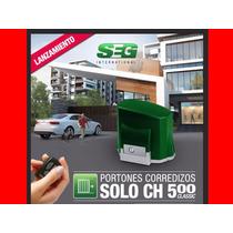 Motor Porton Corredizo Seg Solo Ch 500kg 1/4hp Distribuidor!