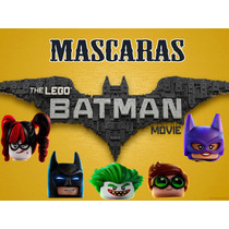 Mascara Antifaz Batman Lego Harley Joker Batgirl Robin