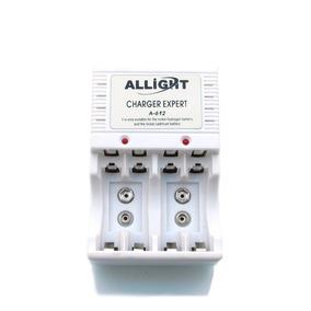 Kit 6 Baterias Recarregável 9v 450 Mah Knup + Carregador Aaa