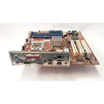 Kit Placa Mãe 775 + Processador + Cooler + Memória + Hd 80gb