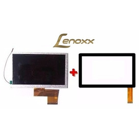 Tela Touch+display Lcd Tablet Lenoxx Tb50 Orig 7