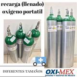 Recarga A Cilindro Portatil Oxigeno Oximex