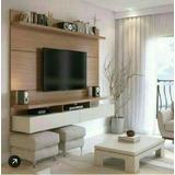 Mueble Rack Para Tv Centro De Entretenimiento Gratis Instala