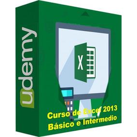 Udemy Curso De Excel 2013 Básico E Intermedio Video Ka37