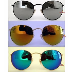 Oculos Retro Round De Sol - Óculos no Mercado Livre Brasil 02dfe40f74