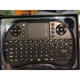 Mini Teclado Keyboard Sem Fio Mouse Smart Tv Samsung Sony
