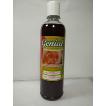 Shampoo Genial Regenerador Anticaida 100% Natural. Of