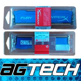 Memoria Ram 8 Gb Hyper X Fury Azul