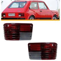 2 Lanterna Traseira Fiat 147 77 78 79 80 81 82 Bicolor (par)
